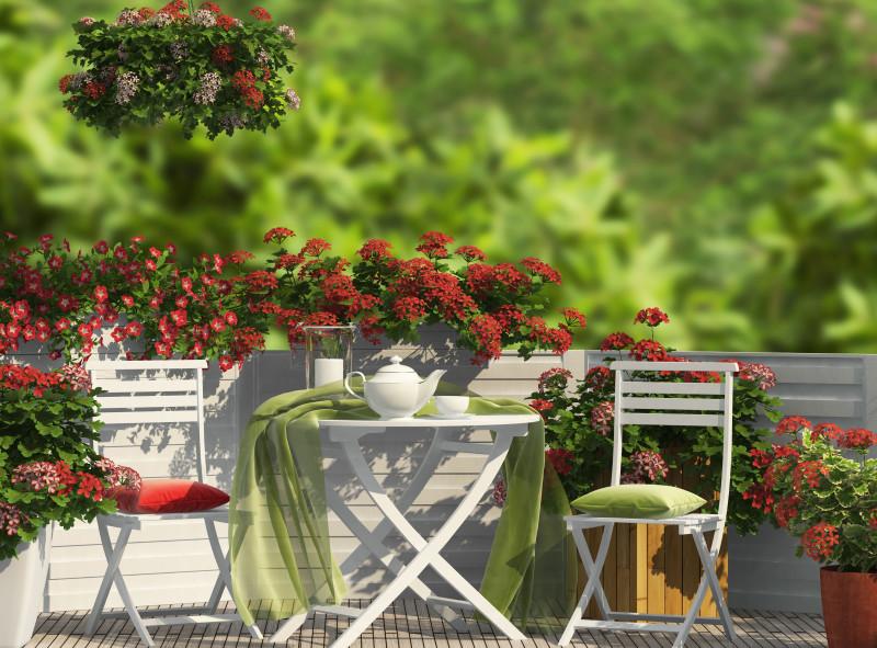 Wiosenne porządki na balkonie i tarasie