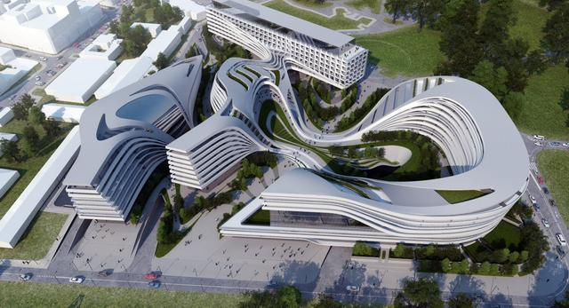 Kompleksu biurowo-handlowo-mieszkaniowy w Belgradzie