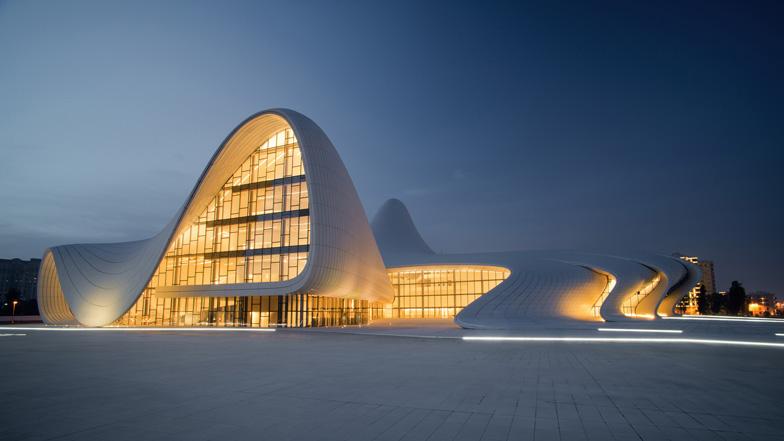 Heydar Aliyev Centre w Baku