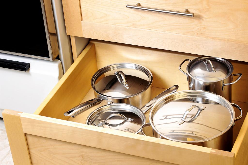 Sprytne schowki w kuchni
