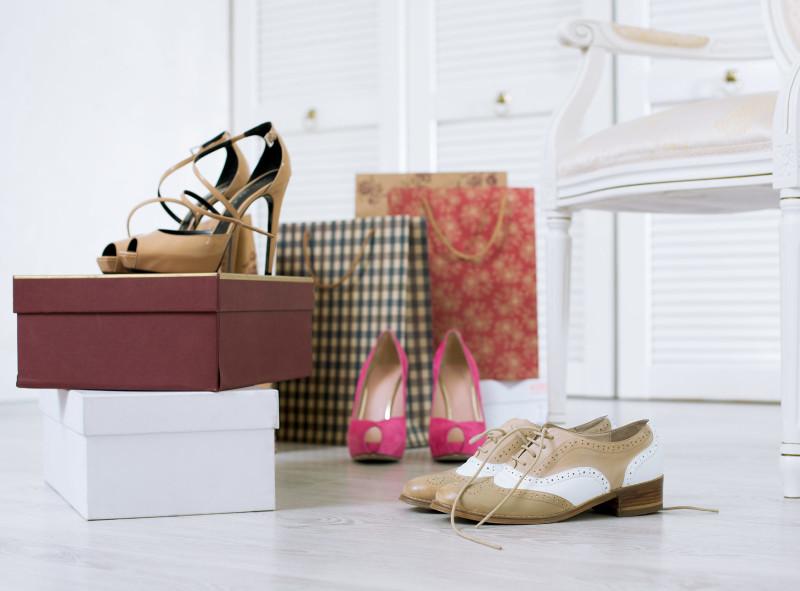 Eleganckie szafki na buty
