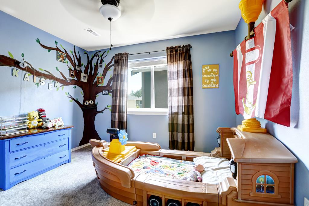 Malujemy dziecięcy pokój