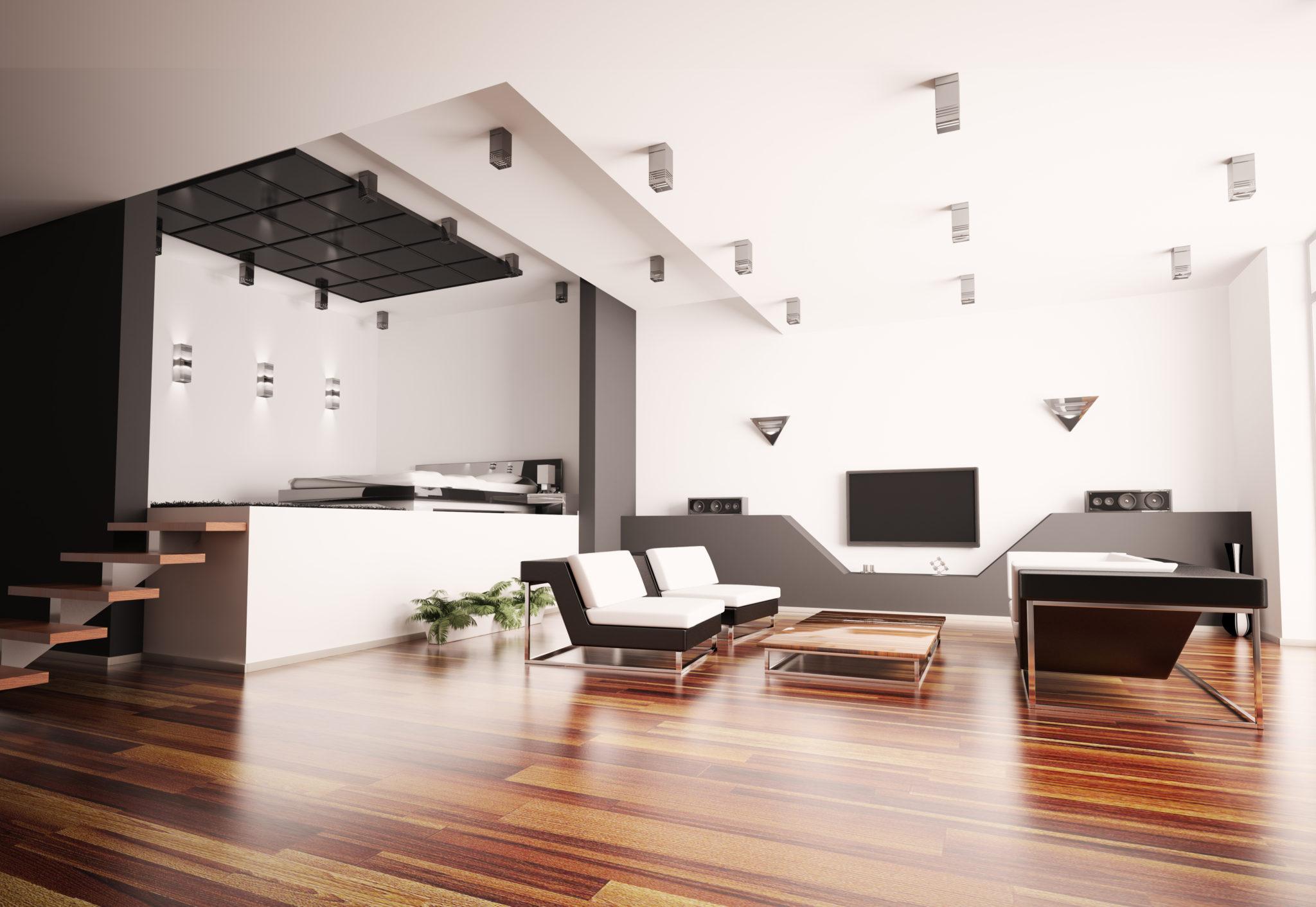 Sypialnia i salon w jednym pomieszczeniu knaufmag for Agencement interieur