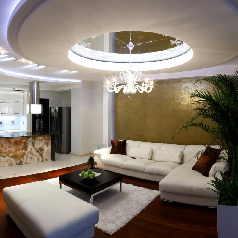 Instalacja elektryczna w suficie podwieszanym knaufmag for Sufit podwieszany w salonie