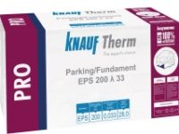 KNAUF Therm PRO Parking EPS 200 λ 33