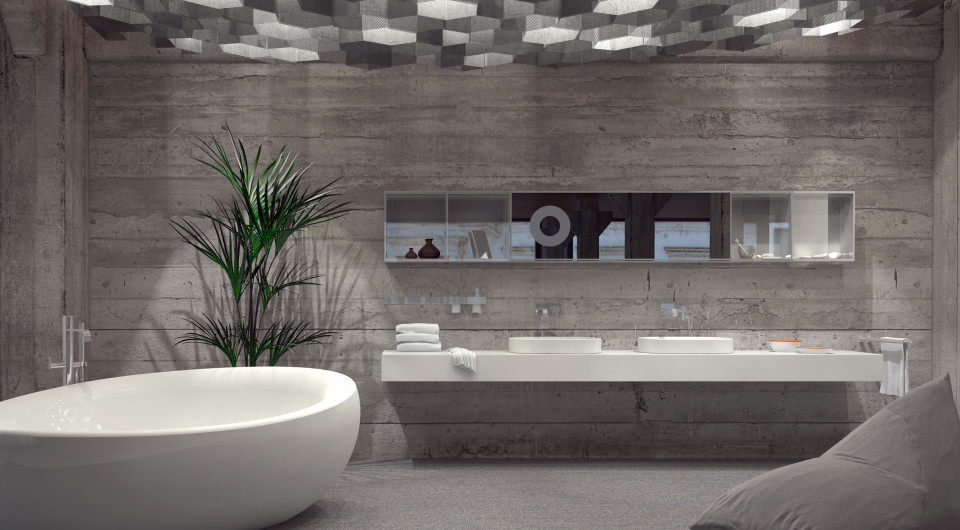 Wyrafinowana łazienka