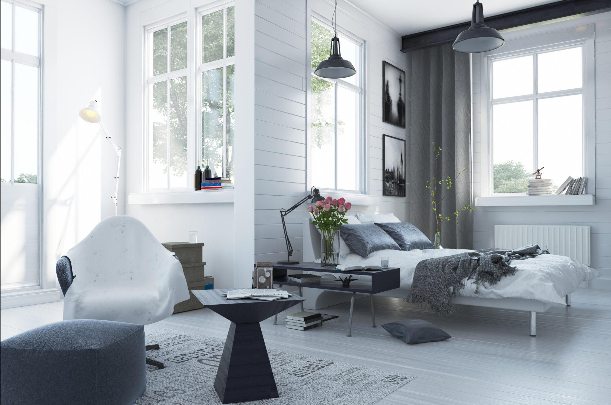 Sypialnia I Salon W Jednym Pomieszczeniu Knaufmag