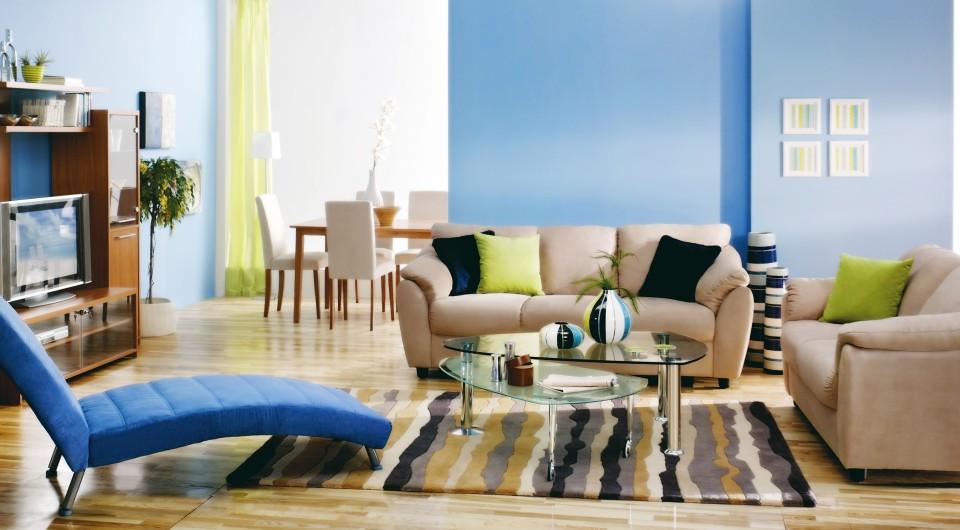 Kolorowy Dywan W Salonie Knaufmagpl