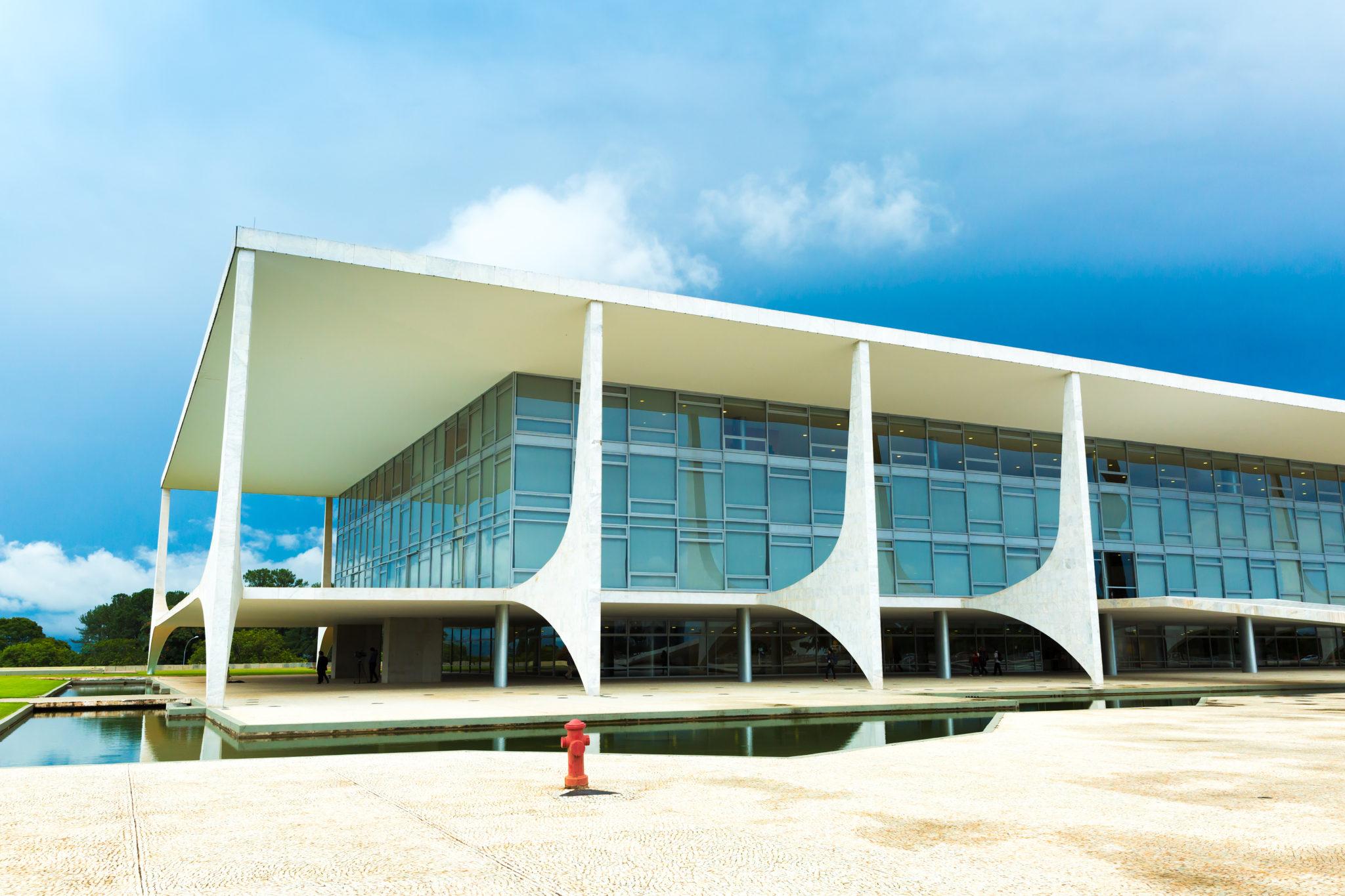 "The ""Alvorada"" Palace Residence of the President of Brazil"