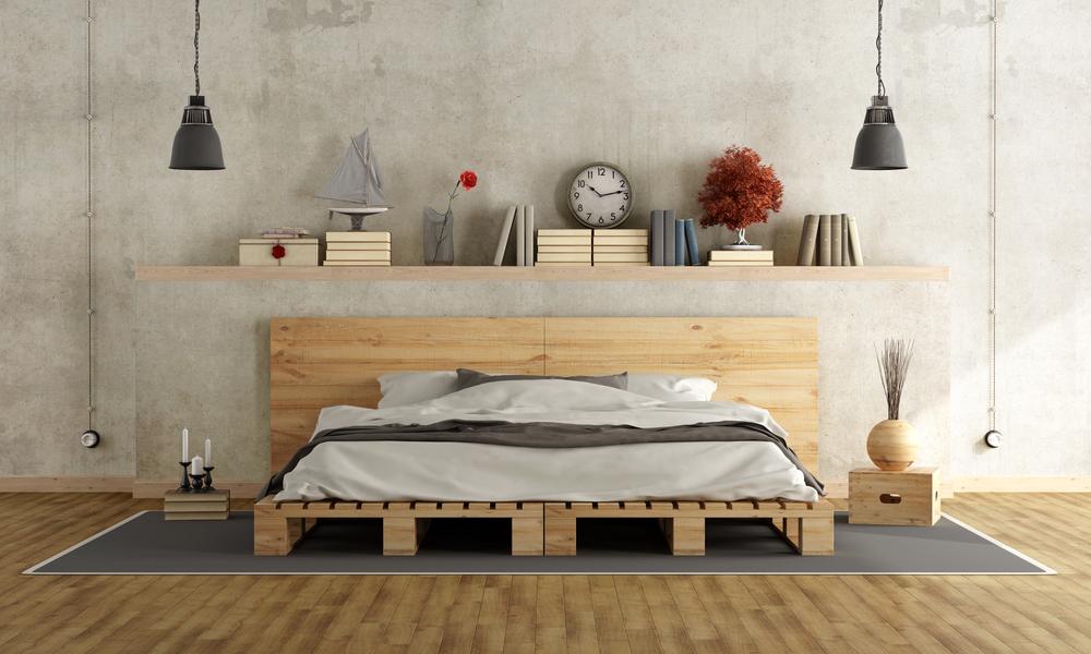 Stylowa Sypialnia Jak Wykorzystać Przestrzeń Nad łóżkiem